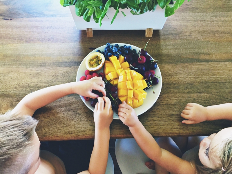 Learning to enjoy healthy foods at a young age can help kids develop good eating habits for the rest of their lives.