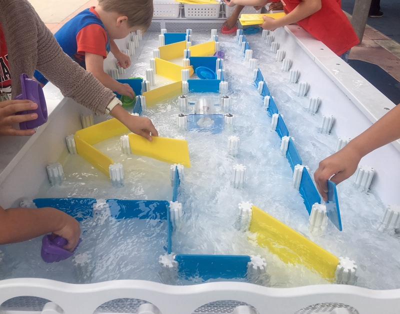 Enhance your classroom water table experience by providing add-ins that will help children develop new skills.